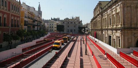 jartible palcos semana santa sevilla carrera oficial beitavg